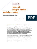 Marketings Golden Age