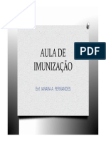 AULA de IMUNIZAÇÃO.pdf Ianara Fernandes
