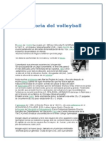 Historia Del Volleyball