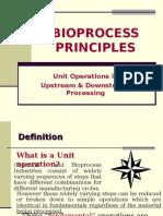 Bioprocess Principles