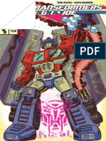 Transformers vs G.I. JOE #6 Preview