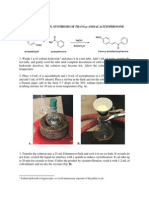 CHEM 335 Aldol Reaction