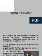 Probabilidades- Jhon Saavedra -Cesar Sanchez Acosta