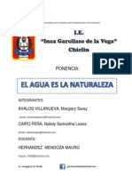 Ponencia Institución Educativa Igv - Chiclin