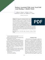 Branski Et Al, 2004 Inflammation and Vocal Fold