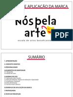 Manual de Aplicação da Marca Nós Pela Arte