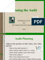 p37 Planning the Audit