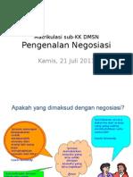 Matrikulasi Sub-KK DMSN