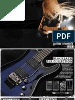 Schecter Catalog 2012