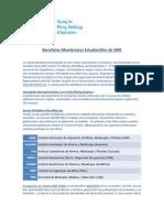 Beneficios Membresias SME-Estudiantes