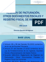Nueva facturación DEI 2015