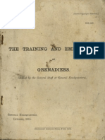 The Training and Employment of Grenadiers UK (1915)
