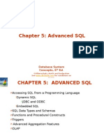 Advanced Database - Chap 5