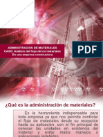 Administracion de Materiales Presentacion Nº1