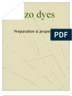 Azo dyes-Preparation & properties