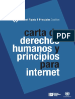 Derechos Humanos e Internet