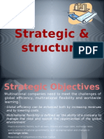Strategic & structure