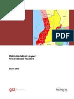 Rekomendasi Layout Peta Evakuasi Tsunami
