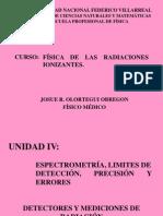 Curso Fisica de Las Radiaciones Ionizantes Unfv Cap IV 2013-2