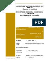 Informe Final 2 de Introduccion a Las Telecomunicaciones