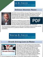 Criminal Defense Attorney Maine