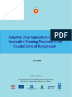 Adaptive Crop Agriculture Including Innovative Farming Practices in the Coastal Zone - 2009