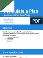 formulate a plan presentation