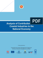 Analysis of Contribution of the Coastal Industries to the National Economy - 2009