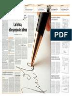 Articulo Diario Malaga Grafologia