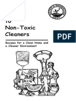 Guide to Non Toxic Cleaners