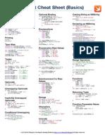 Swift Cheat Sheet - Language Basics - A4