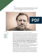 """Zizek, """"Los modelos populistas han perdido auge"""", entrevista"""