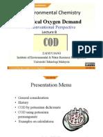 Ocw EnvChem Lecture 8 COD