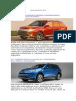Vehículos nuevos 2016