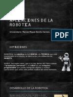 Aplicaciones de La Robotica