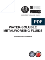 Water-Soluble Metalworking Fluids - General Information Booklet