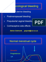 Gynaecological Bleeding