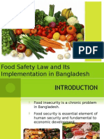 Food Safety (Bangladesh perspective)