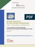 BUONE PRATICHE DI INCLUSIONE FINANZIARIA