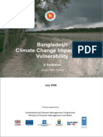 Bangladesh Climate Change Impacts and Vulnarebility - A Synthesis - 2006