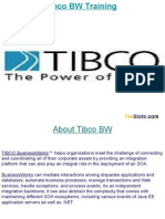 Tibco BW Training