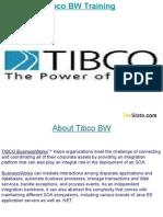Tibco BW Training