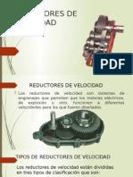 Reductores de Velocidad y Válvulas de Control