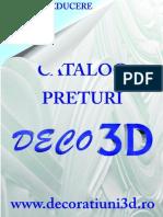 Catalog Preturi Deco3D