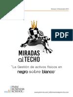 Mirada Al Techo3 Gestion de Activos Fisicos en Negro Sobre Blanco