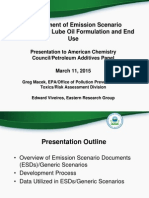 EPA ERG Lube Oil Additives ESD Slides ACC Webinar March11 2015