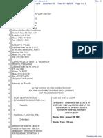 Faith Center Church Evengelist Ministries et al v. Glover et al - Document No. 33