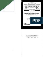 Mathtalk Fractions Manual