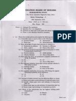 Boe Exam Paper Sep 2013