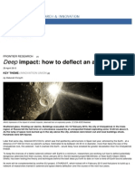 Horizon Magazine - European Commission - Deep Impact- How to Deflect an Asteroid - 2013-05-17